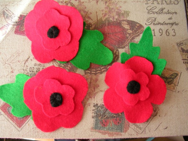 Poppies (£1 goes to RBL)