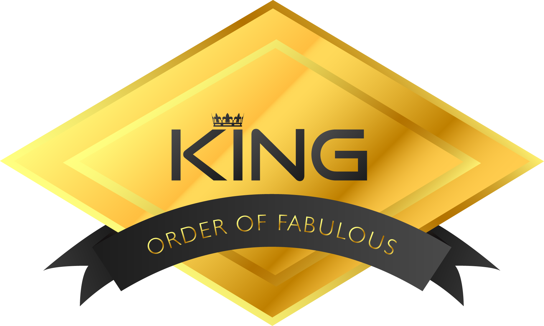 KingOf Order of Fabulous Badge - New Style